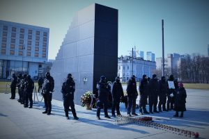 Pomnik pamięci ofiar tragedii smoleńskiej, 10 marca 2021