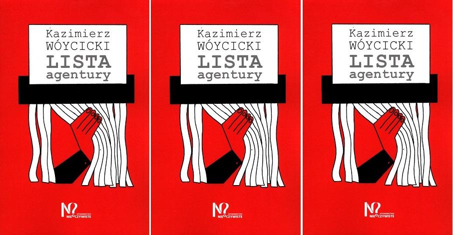 """Okładka książki """"Lista agentury"""""""