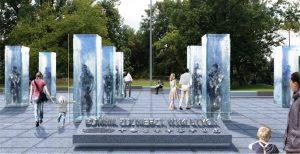 wizualizacja pomnika żołnierzy wyklętych we Wrocławiu